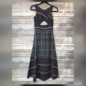 Free People 4 gorgeous BoHo batik keyhole dress